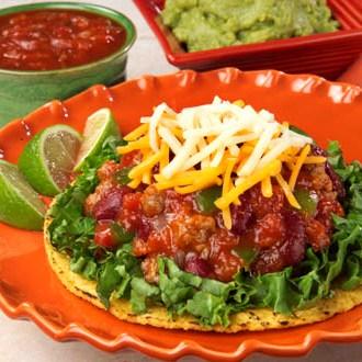 Chili Tostadas Recipe