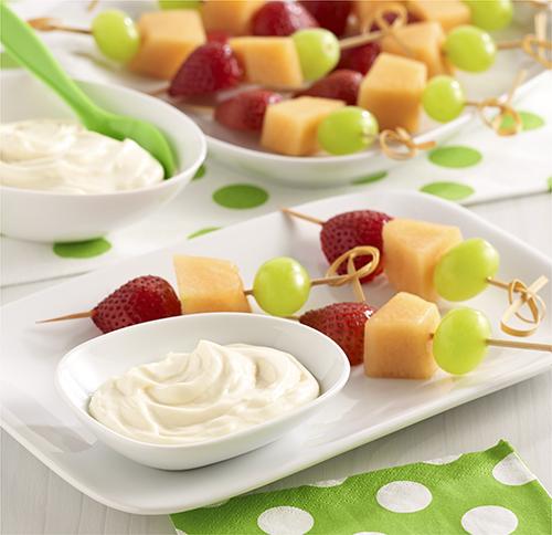 Crema ('Dip') para Frutas al Estilo de una Tarta de Queso
