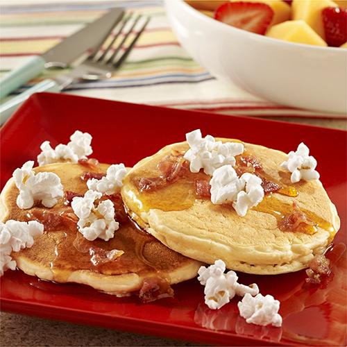 Popcorn Pancakes