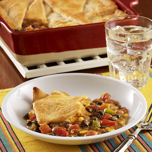 Meatless Taco Pot Pie