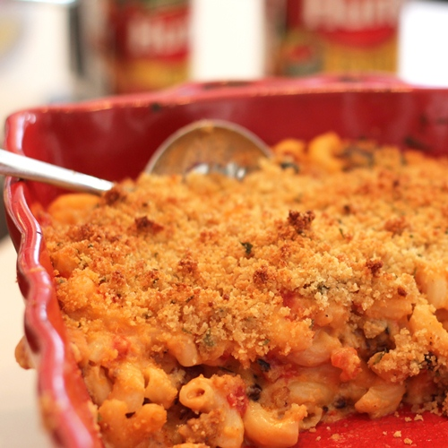 Chorizo and Tomato Mac 'n Cheese