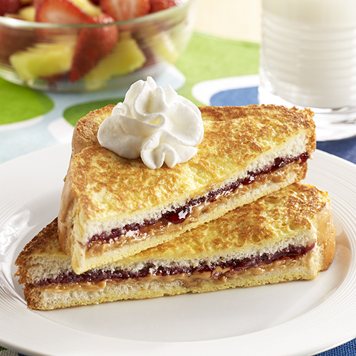 Stuffed PB&J French Toast