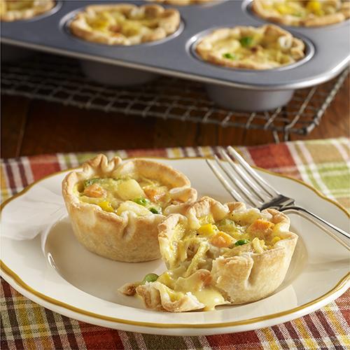 Easy Mini Chicken Pot Pies