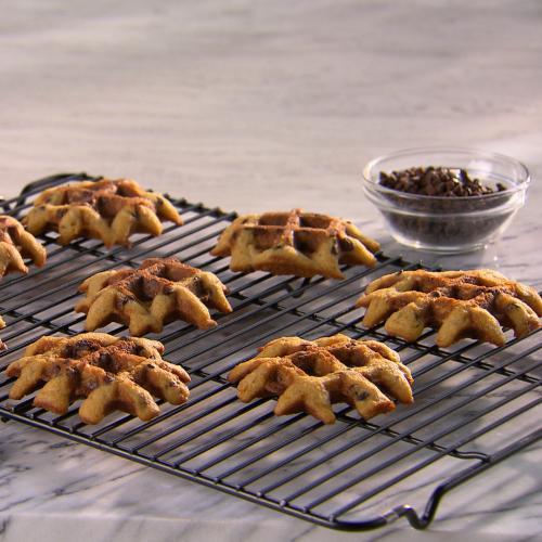 Waffled Oatmeal Chocolate Chip Cookies Recipe