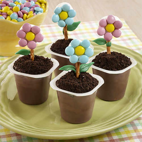 Chocolate Dirt Pudding Pots Recipe — Dishmaps