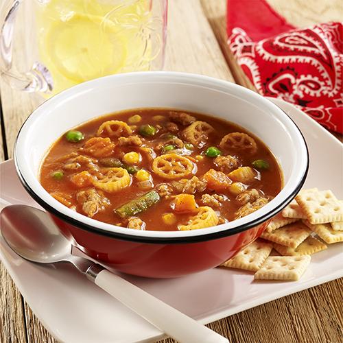 Sopa de Pavo con Vegetales