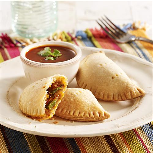 Roasted Chile and Cheese EmpanadasRecipe ReadySetEat