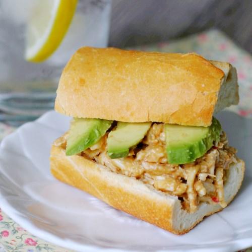 Zesty Chicken Salad Sandwiches