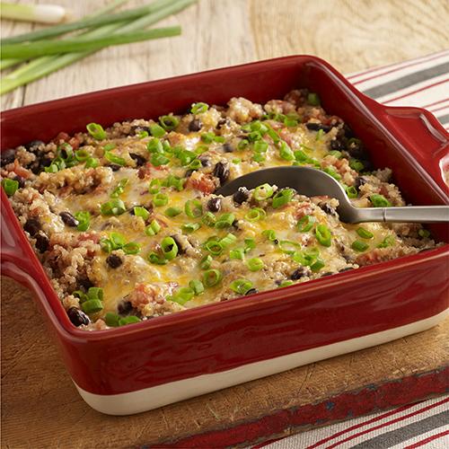 Southwest Vegetarian Quinoa Bake