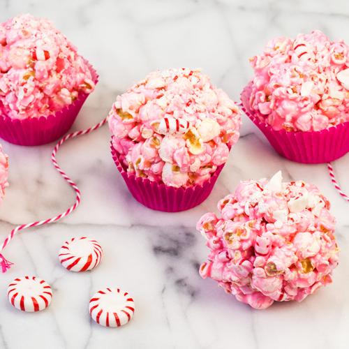 Peppermint Popcorn Balls