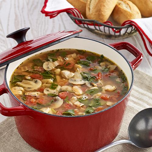 Smoky Chicken White Bean Soup