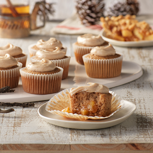 Apple Pie Spice Cupcakes