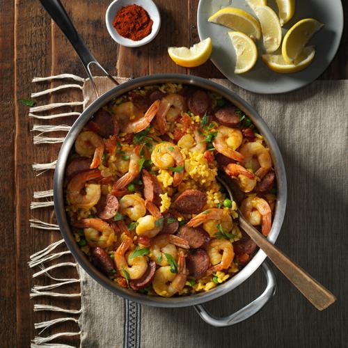 Easy Paella - Recipe | ReadySetEat