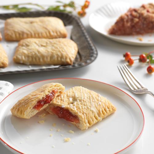 Strawberry Rhubarb Pocket Pies
