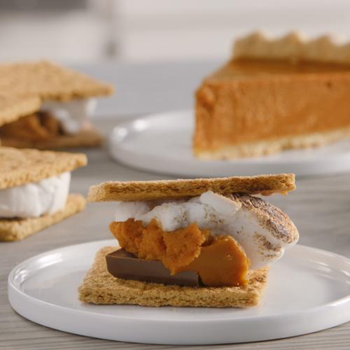 Pumpkin Pie Broiler S'mores