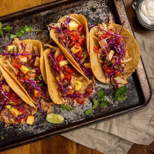 Jamaican Jerk Turkey Tacos
