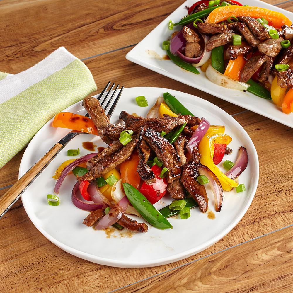 Mahogany Pork & Veggies